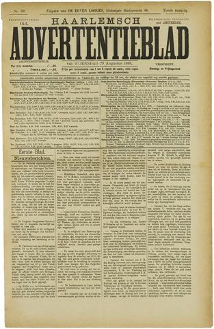 Haarlemsch Advertentieblad 1888-08-29