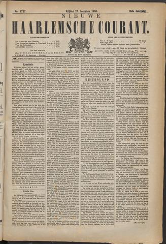 Nieuwe Haarlemsche Courant 1891-12-25
