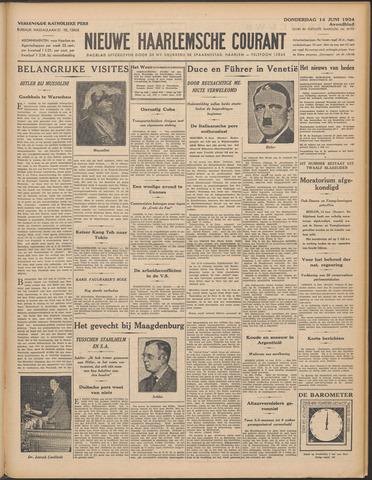 Nieuwe Haarlemsche Courant 1934-06-14