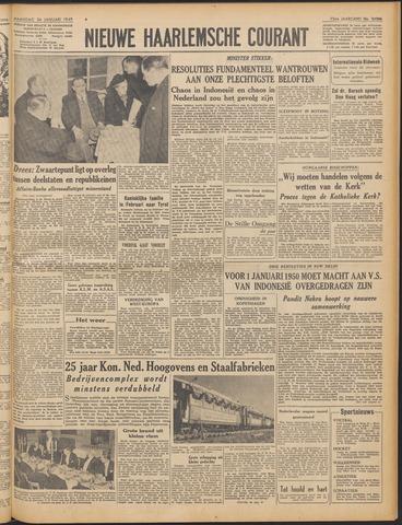 Nieuwe Haarlemsche Courant 1949-01-24