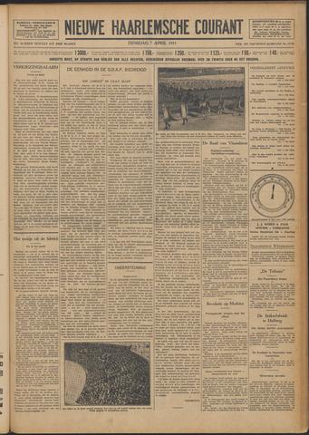 Nieuwe Haarlemsche Courant 1931-04-07