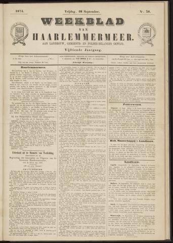 Weekblad van Haarlemmermeer 1874-09-18