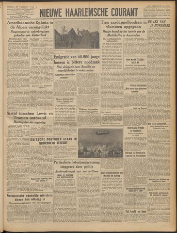 Nieuwe Haarlemsche Courant 1946-11-22