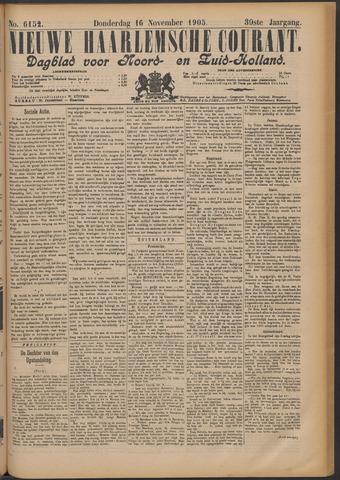 Nieuwe Haarlemsche Courant 1905-11-16