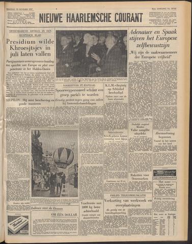 Nieuwe Haarlemsche Courant 1957-11-25