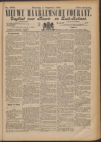 Nieuwe Haarlemsche Courant 1905-08-05