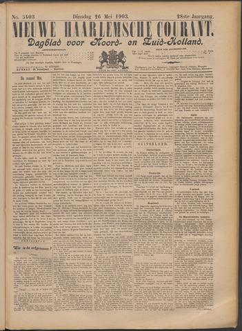 Nieuwe Haarlemsche Courant 1903-05-26