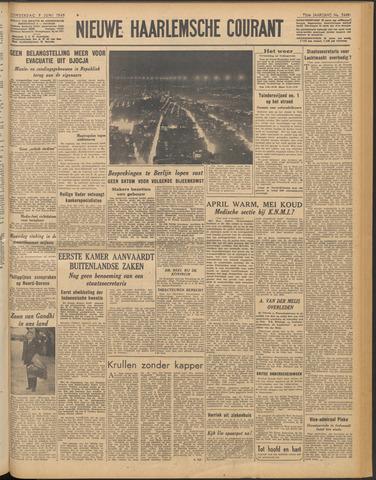 Nieuwe Haarlemsche Courant 1949-06-09