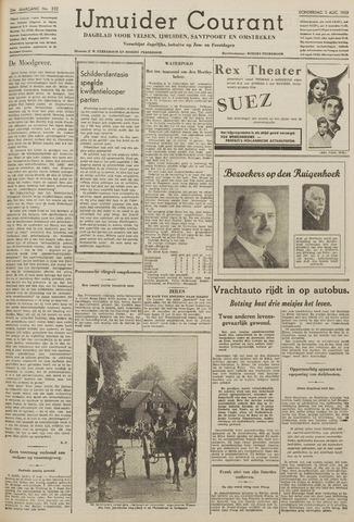 IJmuider Courant 1939-08-03
