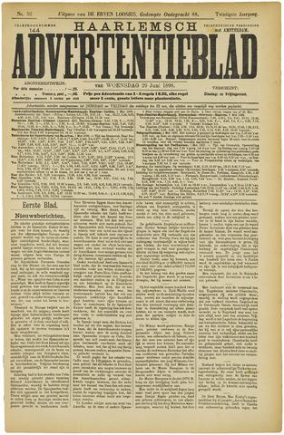 Haarlemsch Advertentieblad 1898-06-29