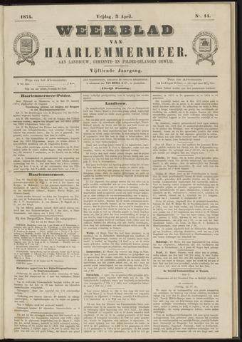 Weekblad van Haarlemmermeer 1874-04-03