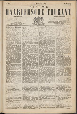 Nieuwe Haarlemsche Courant 1881-10-16