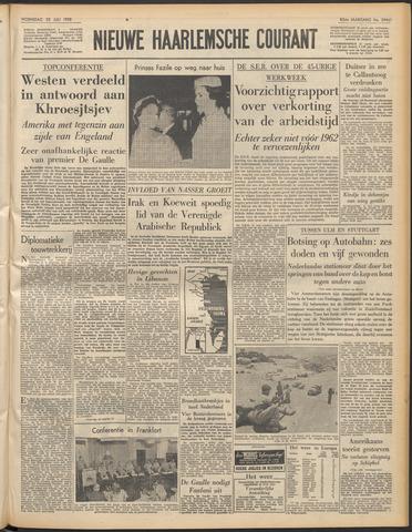 Nieuwe Haarlemsche Courant 1958-07-23