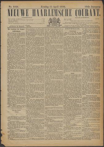 Nieuwe Haarlemsche Courant 1894-04-15