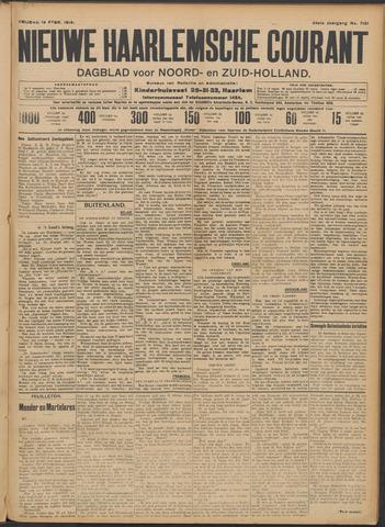 Nieuwe Haarlemsche Courant 1910-02-18