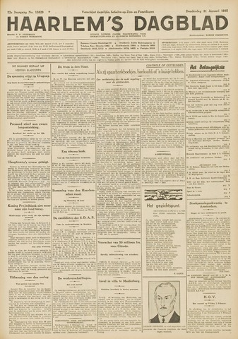 Haarlem's Dagblad 1935-01-31