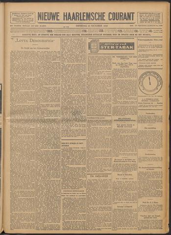 Nieuwe Haarlemsche Courant 1929-10-22