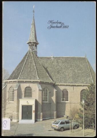 Jaarverslagen en Jaarboeken Vereniging Haerlem 1982