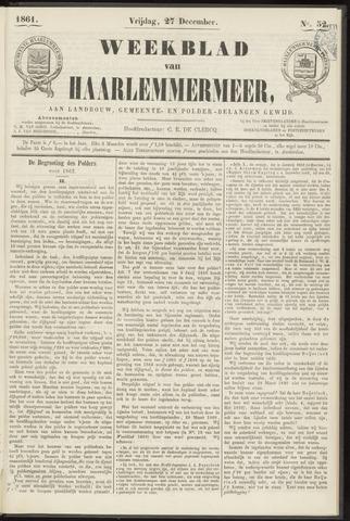 Weekblad van Haarlemmermeer 1861-12-27