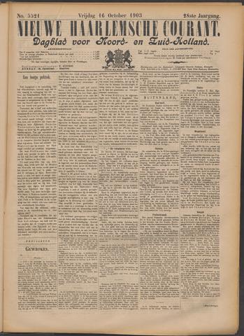 Nieuwe Haarlemsche Courant 1903-10-16