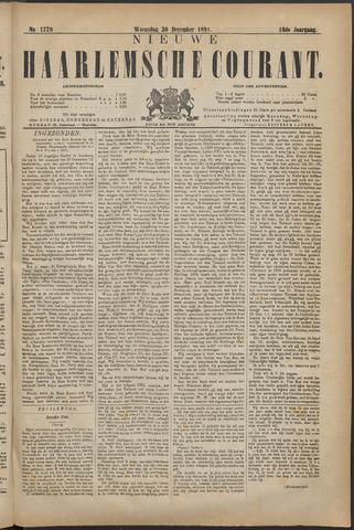 Nieuwe Haarlemsche Courant 1891-12-30