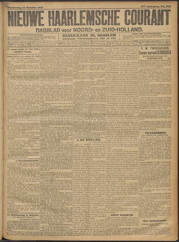 Nieuwe Haarlemsche Courant 1916-10-12