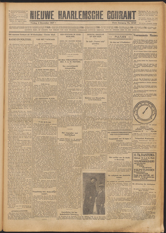 Nieuwe Haarlemsche Courant 1927-12-02