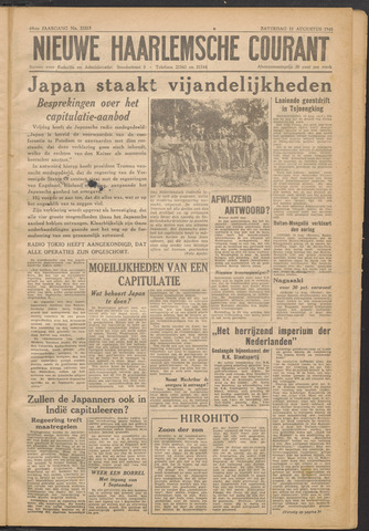 Nieuwe Haarlemsche Courant 1945-08-11