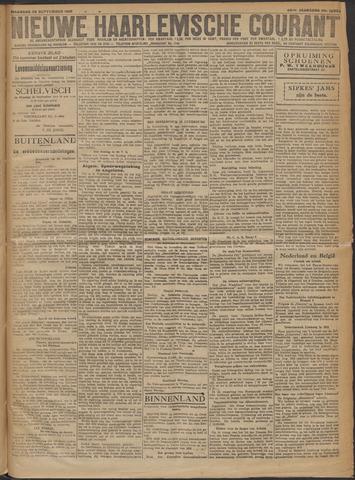 Nieuwe Haarlemsche Courant 1919-09-29