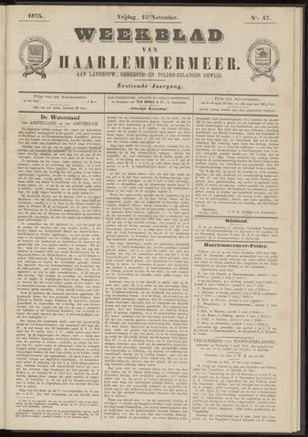 Weekblad van Haarlemmermeer 1875-11-19