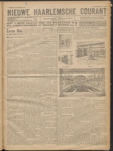 Nieuwe Haarlemsche Courant 1921-09-27