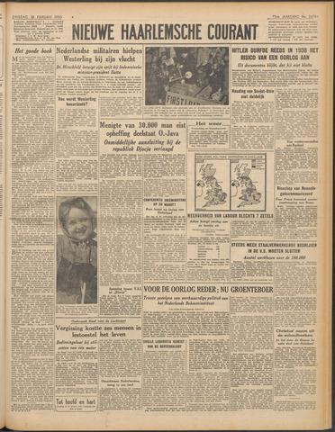 Nieuwe Haarlemsche Courant 1950-02-28