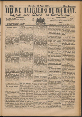 Nieuwe Haarlemsche Courant 1906-04-23