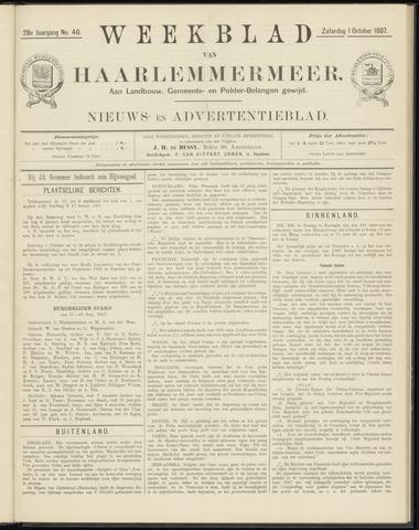Weekblad van Haarlemmermeer 1887-10-01