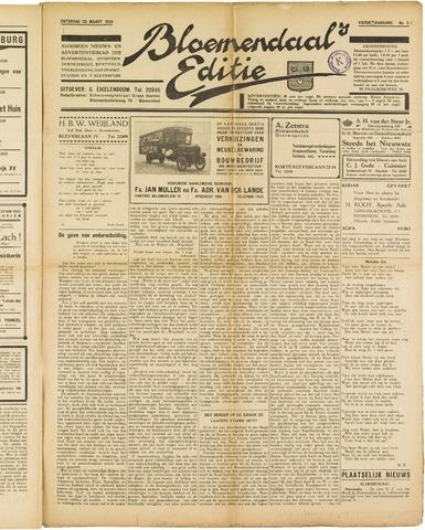 Bloemendaal's Editie 1929-03-30