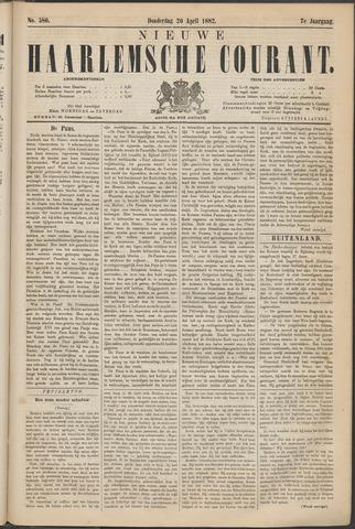 Nieuwe Haarlemsche Courant 1882-04-20