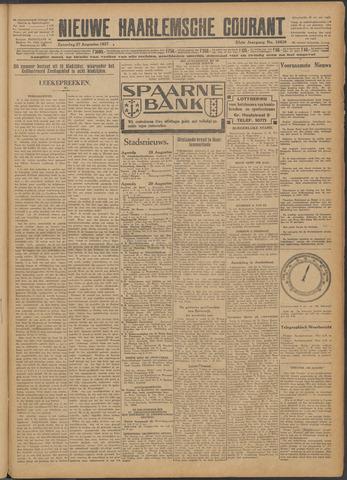 Nieuwe Haarlemsche Courant 1927-08-27