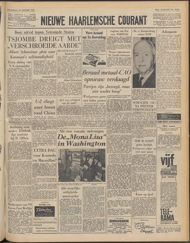 Nieuwe Haarlemsche Courant 1962-12-20