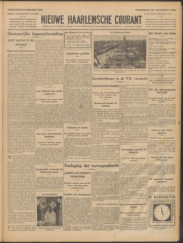 Nieuwe Haarlemsche Courant 1933-08-30