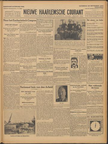 Nieuwe Haarlemsche Courant 1934-09-29