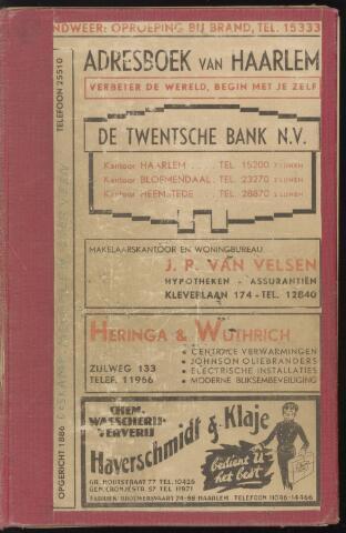 Adresboeken Haarlem 1942