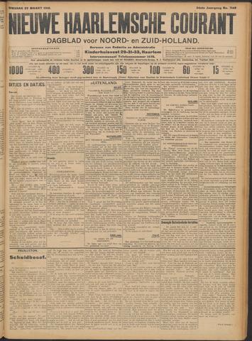 Nieuwe Haarlemsche Courant 1910-03-22