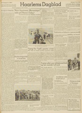 Haarlem's Dagblad 1947-05-27