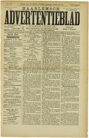 Haarlemsch Advertentieblad 1888-11-03