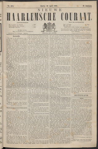 Nieuwe Haarlemsche Courant 1881-04-10