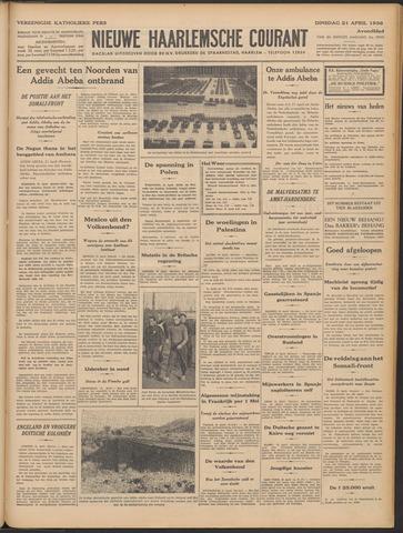 Nieuwe Haarlemsche Courant 1936-04-21