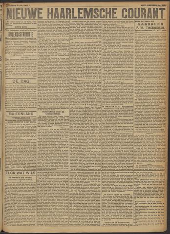 Nieuwe Haarlemsche Courant 1917-07-21