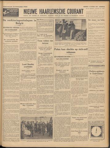 Nieuwe Haarlemsche Courant 1938-10-17