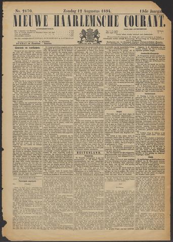 Nieuwe Haarlemsche Courant 1894-08-12