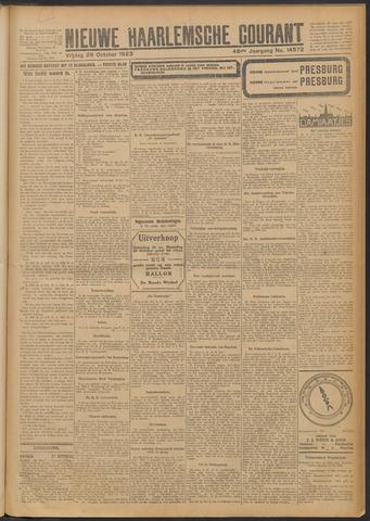 Nieuwe Haarlemsche Courant 1923-10-26